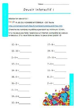 Prolongement : questions-réponse / devoirs interactif