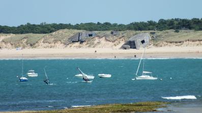 La plus belle plage de l'île de Ré : la plage de la Conche des Baleines - Saint-Clément-des-Baleines - Île de Ré - 17