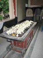 Le chariot du crématoire