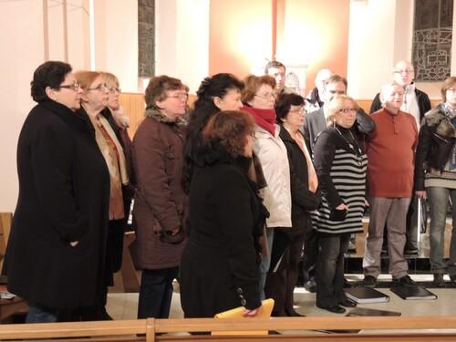 Choraly- Filage du concert à l'église