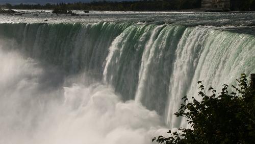 les Chutes Niagara...