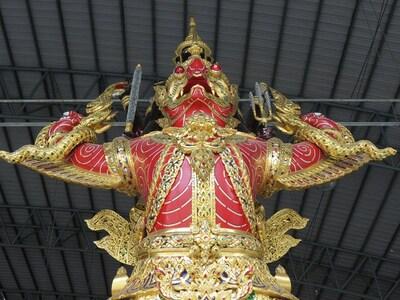 15 Juillet 2013 - Bangkok, les barges royales et zoo