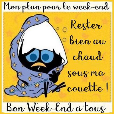 C'est le weekend