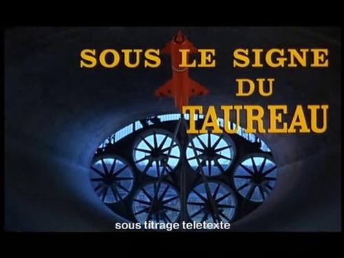 SOUS LE SIGNE DU TAUREAU - BOX OFFICE JEAN GABIN 1969