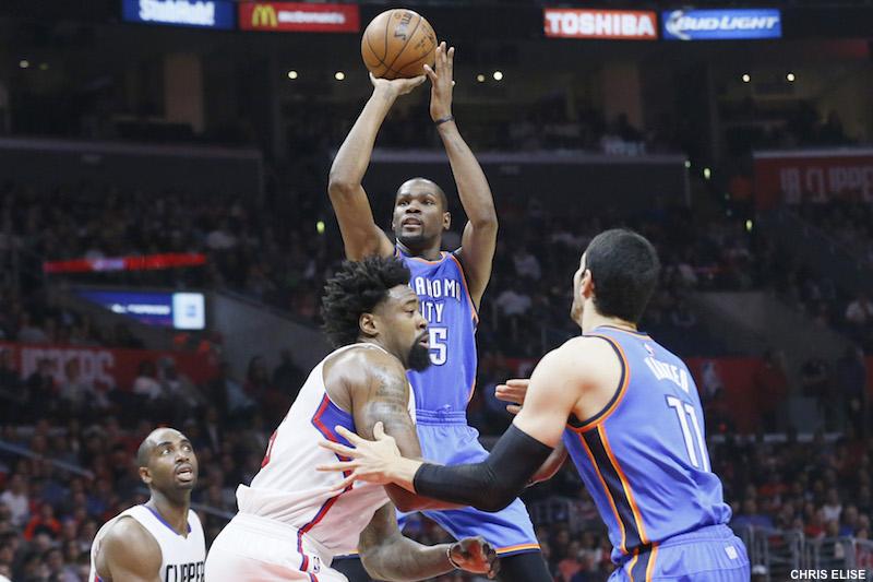 LA Clippers - OKC : Kevin