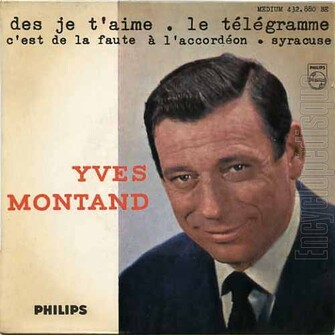 Yves Montand, 1963