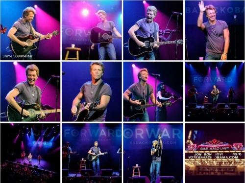 JON BON JOVI AT HOUSE OF BLUES - LAS VEGAS OCT 06/2012