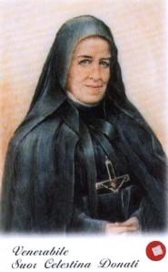 Bienheureuse Célestine de la Mère de Dieu ou Maria Anna Donati († 1925)