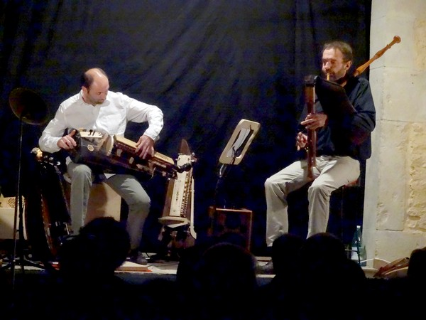 Un superbe concert s'est tenu lieu dans le fournil des Epis d'Antide à Montliot !