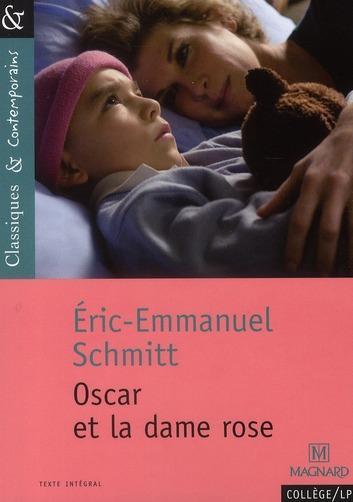 """Critique du Livre : """" Oscar et la dame rose """""""