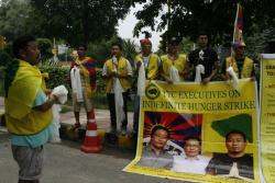 Inde : 12ème jour de grève de la faim pour 3 tibétains. Le TYC en appelle à l'ONU et l'Union Européenne