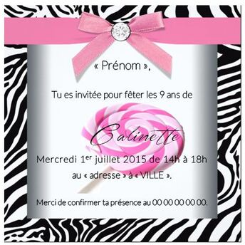 carton invitation anniversaire imprimer astuces organisation maison. Black Bedroom Furniture Sets. Home Design Ideas