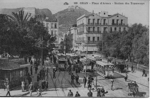 LE TRAMWAY A ORAN DANS LES ANNÉES 1900
