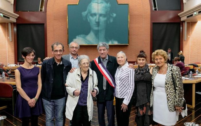 Vitry : la mémoire d'Arsène Tchakarian   et de Josette et Maurice Audin célébrée