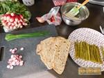 Tartine gourmandes aux asperges