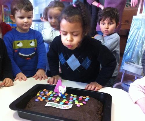 anniversaire d'Anne-Héléna 4 ans