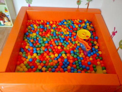 La piscine à balles