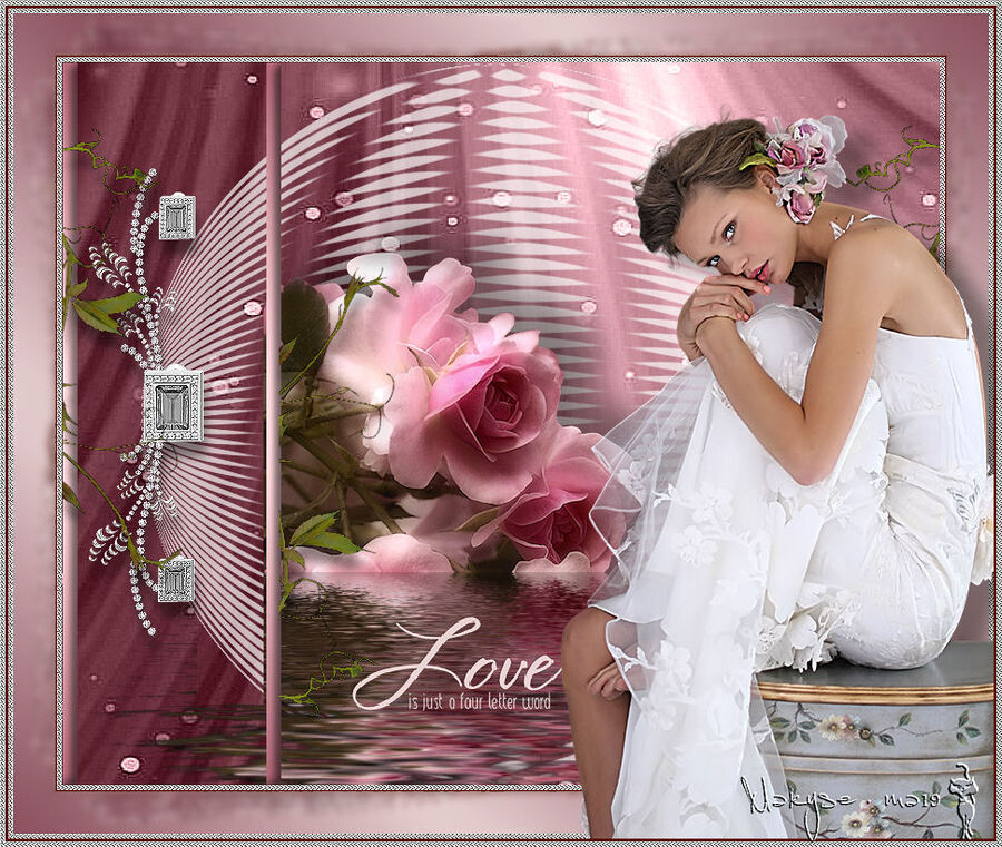 L'amour est juste un mot de cinq lettres