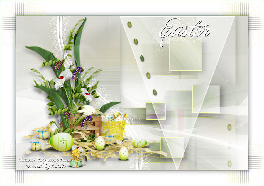 Tutorial Valy Scrap Passion ~ Easter