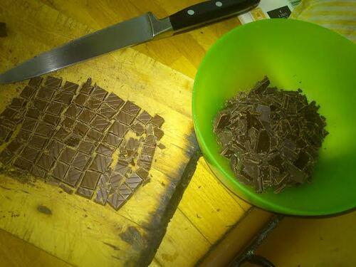 Des croissant au chocolat pour régaler les gourmand au petit dej dimanche matin