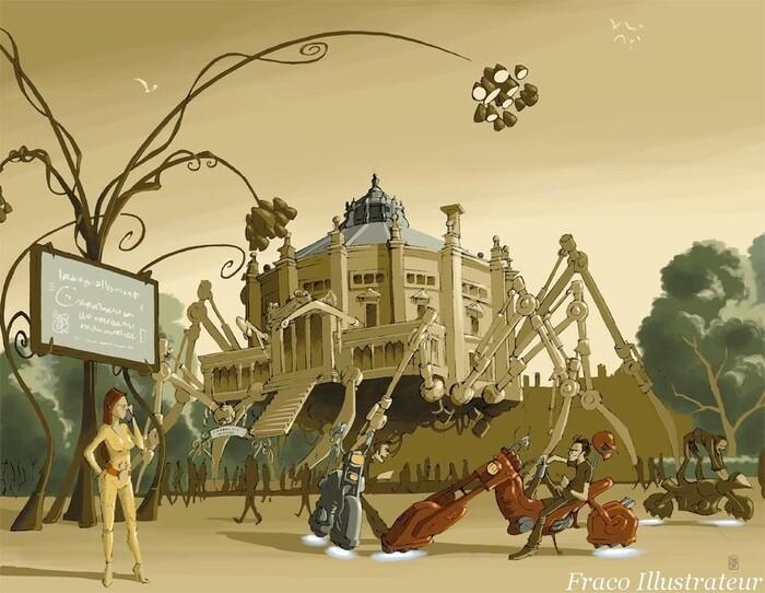 Cirque Jules Verne (suite)