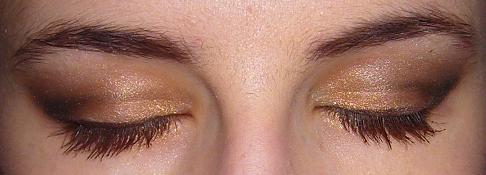 [Make up n°33] Doré et première tenue du jour !