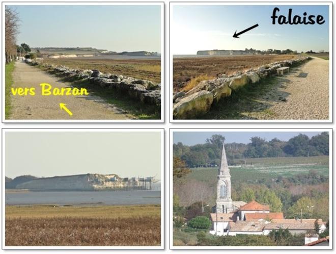 Falaise Talmont/Barzan