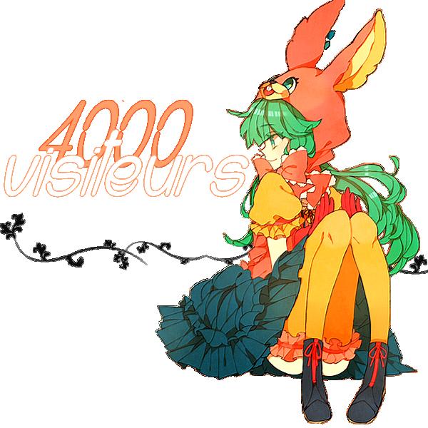 4000 visiteurs !!!!