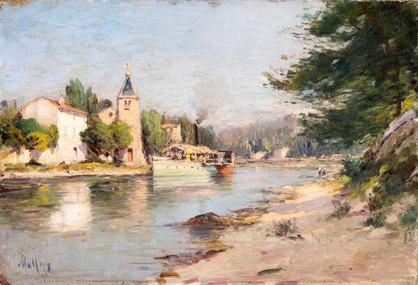 Peinture de Henry Malfroy