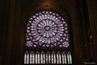 Vitraux Notre Dame de Paris