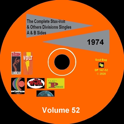 """ The Complete Stax-Volt Singles A & B Sides Vol. 52 Stax & Volt Records & Others Divisions "" SB Records DP 147-52 [ FR ]"