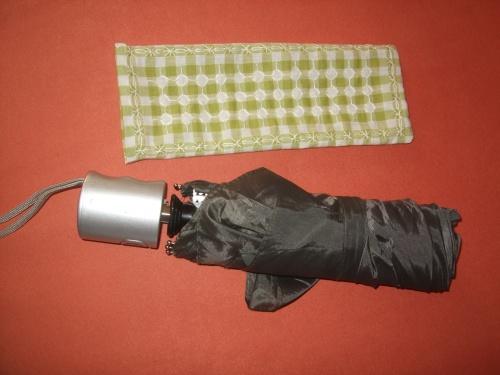 Etui parapluie brodé