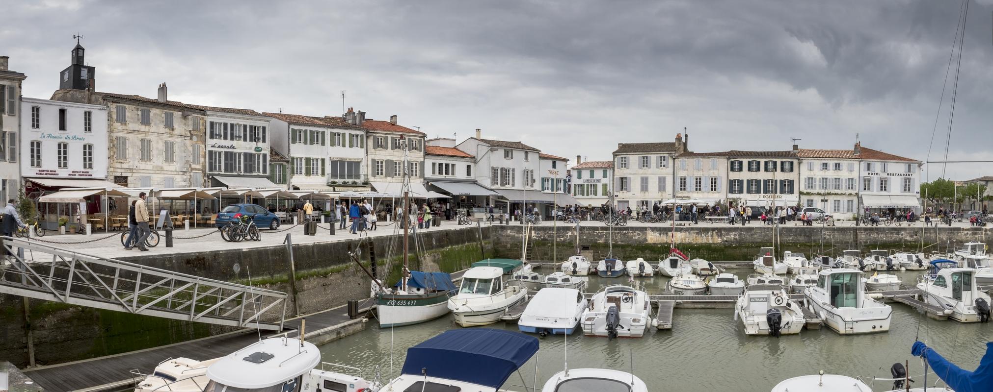 Port de La Flotte - Île de Ré - Charente Maritime, avril 2014.
