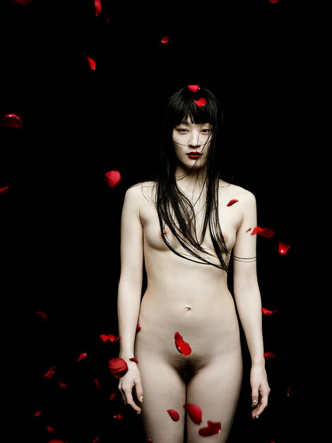 Models Cosplay : ( [Jingna Zhang WEB] - FINE ART : 「Shedding」 / Photography : Jingna Zhang - Model : KOM_I )