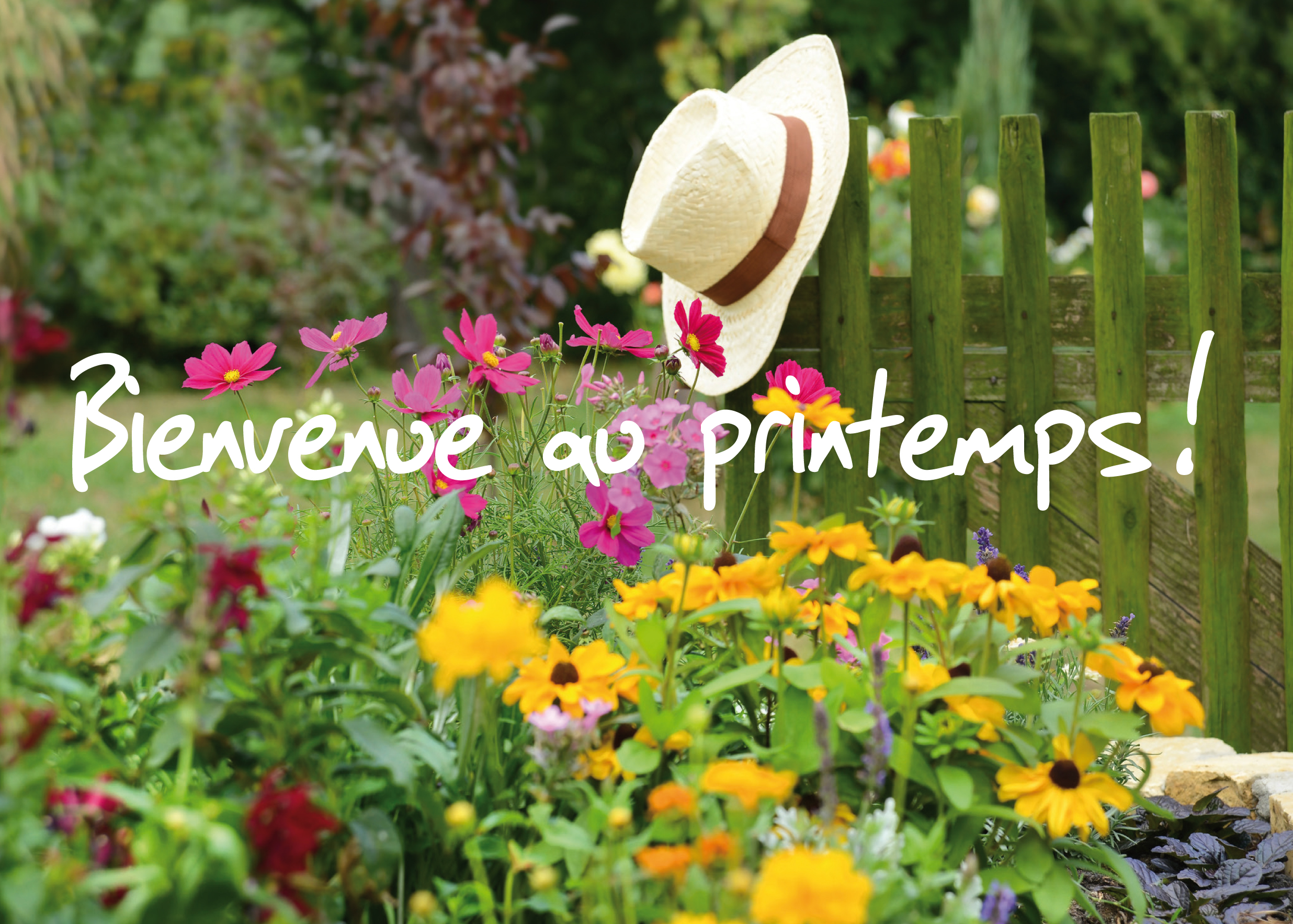 Printemps for Au jardin by les amis