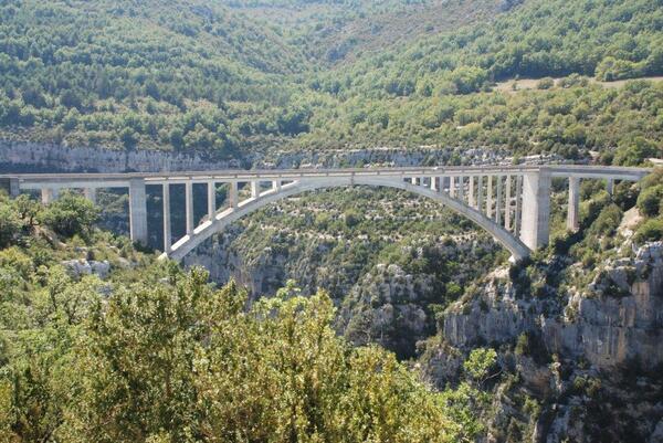 Le pont su l'Artuby