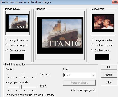 Animation Titanic Movie