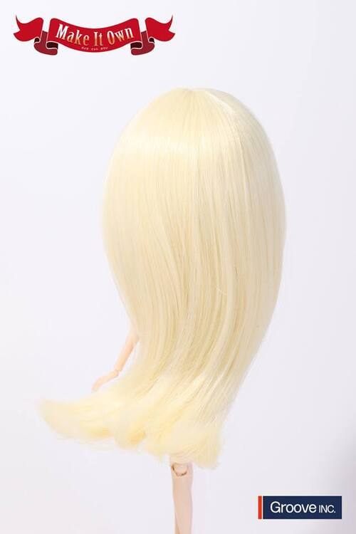 Wig Medium - Platinum Gold