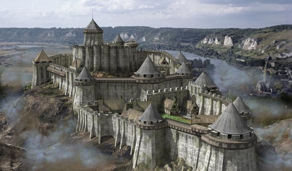chateau gaillard reconstitution