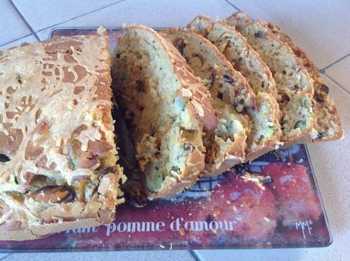 Cake aux moules.