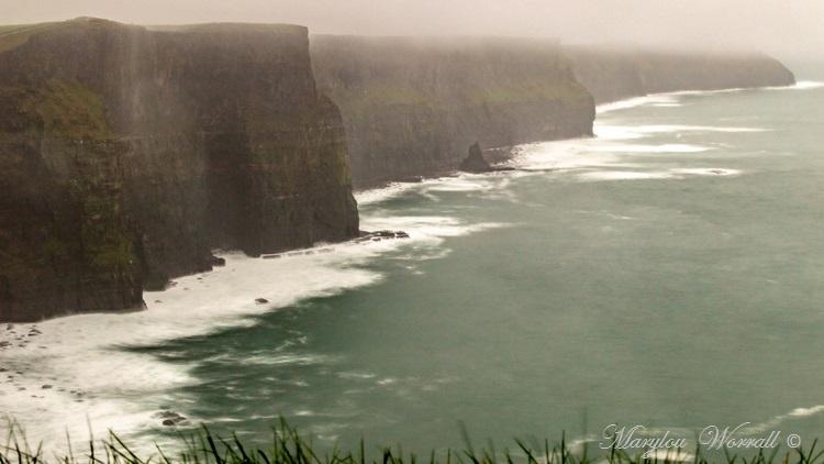 Irlande : Falaises de Moher et campagne irlandaise