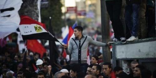 Des dizaines de milliers d'Egyptiens manifestent