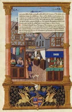 La rue au Moyen Âge de Jean-Pierre Leguay