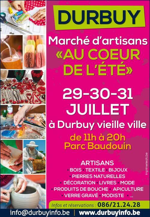 Marché Artisans Durbuy 2016