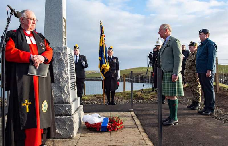 A Centenary Service on the Isle of Lewis to commemorate the loss of HMY Iolaire.