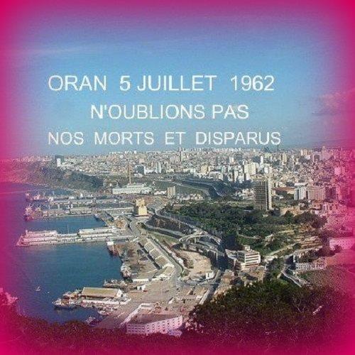 Mémoire du massacre du 5 juillet 1962