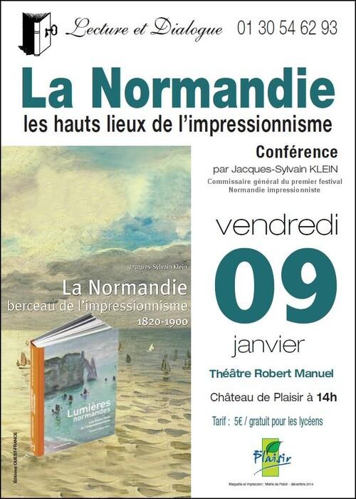 Conférence au Théâtre Robert Manuel de Plaisir