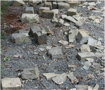 Four / Pose des pierres terminée !