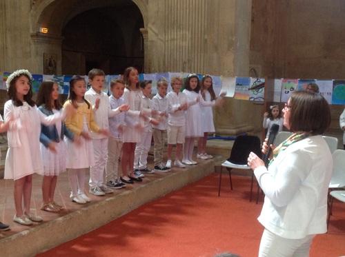 Communion des enfants le 13 mai à La Chapelle du Sacré Coeur !