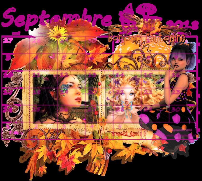 CREA(S) DE SEPTEMBRE 2018 (calendrier)